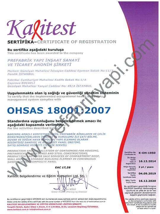 Certificat de gestion de la santé et sécurité au travail