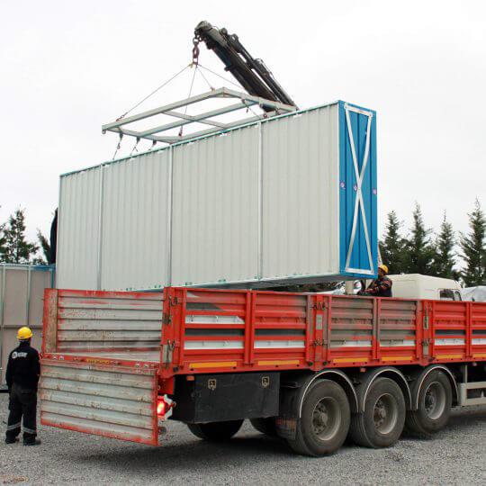 Combien de type de conteneurs y-a-t'il pour un besoin d'espace vital?